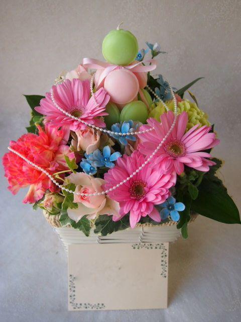 花ギフト|フラワーギフト|誕生日 花|カノシェ話題|スタンド花|ウエディングブーケ|花束|花屋|53797