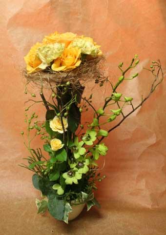 花ギフト|フラワーギフト|誕生日 花|カノシェ話題|スタンド花|ウエディングブーケ|花束|花屋|きみえさん クランツ