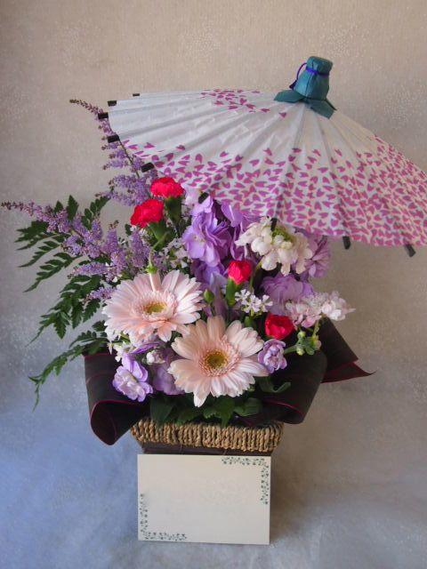 花ギフト|フラワーギフト|誕生日 花|カノシェ話題|スタンド花|ウエディングブーケ|花束|花屋|54194