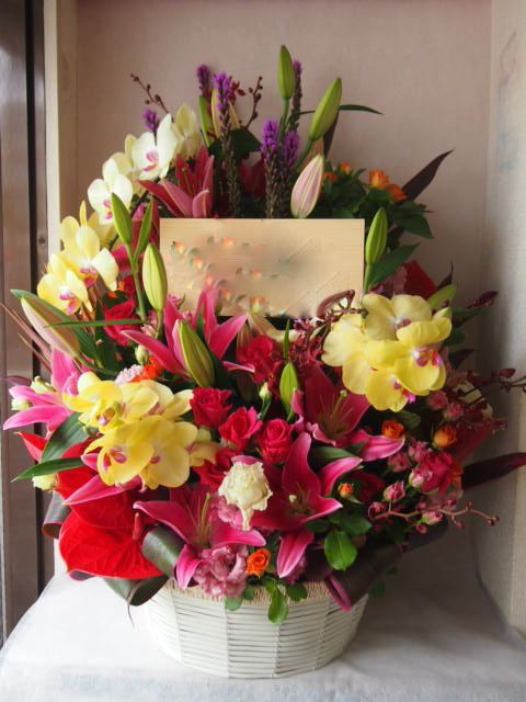 花ギフト|フラワーギフト|誕生日 花|カノシェ話題|スタンド花|ウエディングブーケ|花束|花屋|41434(1)