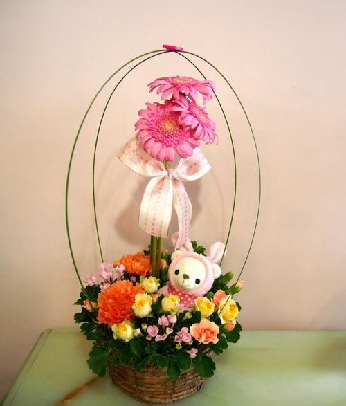 花ギフト|フラワーギフト|誕生日 花|カノシェ話題|スタンド花|ウエディングブーケ|花束|花屋|58339(1)
