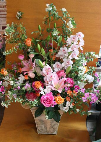 花ギフト|フラワーギフト|誕生日 花|カノシェ話題|スタンド花|ウエディングブーケ|花束|花屋|yuri-arrange