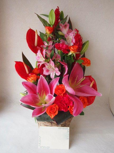 花ギフト|フラワーギフト|誕生日 花|カノシェ話題|スタンド花|ウエディングブーケ|花束|花屋|48349
