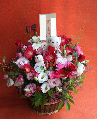 花ギフト|フラワーギフト|誕生日 花|カノシェ話題|スタンド花|ウエディングブーケ|花束|花屋|てんとう虫