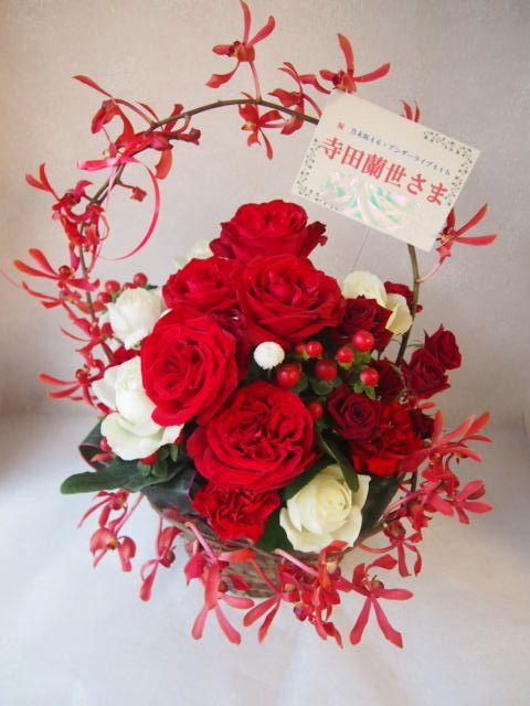 花ギフト|フラワーギフト|誕生日 花|カノシェ話題|スタンド花|ウエディングブーケ|花束|花屋|51055