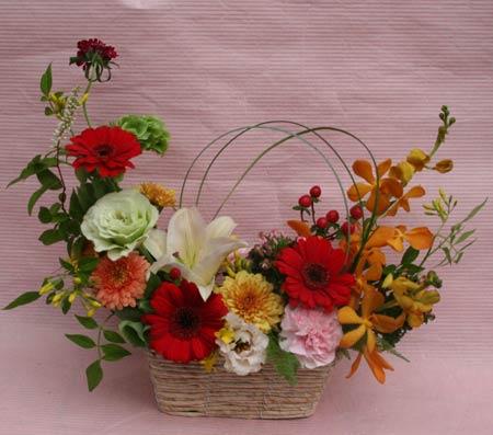 花ギフト|フラワーギフト|誕生日 花|カノシェ話題|スタンド花|ウエディングブーケ|花束|花屋|IMG_7646