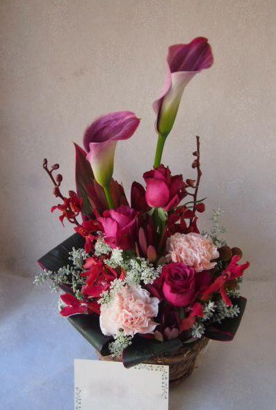 花ギフト|フラワーギフト|誕生日 花|カノシェ話題|スタンド花|ウエディングブーケ|花束|花屋|52360