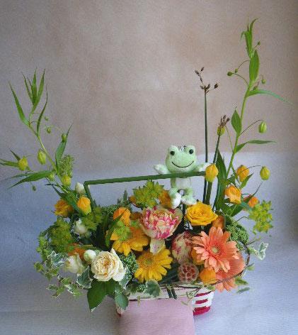 花ギフト|フラワーギフト|誕生日 花|カノシェ話題|スタンド花|ウエディングブーケ|花束|花屋|けろた あ