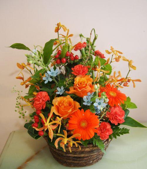 花ギフト|フラワーギフト|誕生日 花|カノシェ話題|スタンド花|ウエディングブーケ|花束|花屋|57187