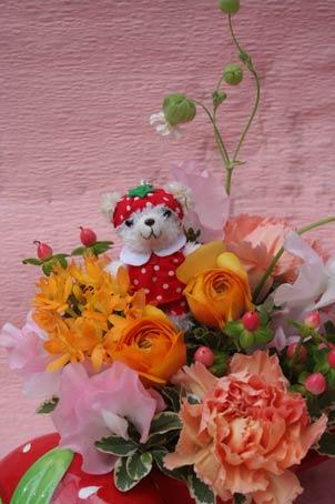 花ギフト|フラワーギフト|誕生日 花|カノシェ話題|スタンド花|ウエディングブーケ|花束|花屋|f97422e0