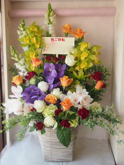 花ギフト|フラワーギフト|誕生日 花|カノシェ話題|スタンド花|ウエディングブーケ|花束|花屋|46627(1)