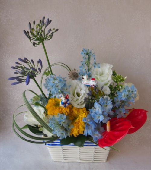 花ギフト|フラワーギフト|誕生日 花|カノシェ話題|スタンド花|ウエディングブーケ|花束|花屋|49026
