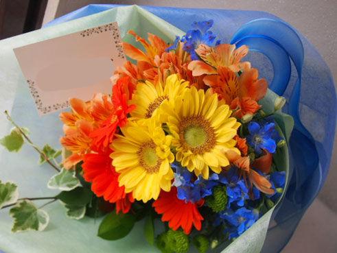 花ギフト|フラワーギフト|誕生日 花|カノシェ話題|スタンド花|ウエディングブーケ|花束|花屋|56612