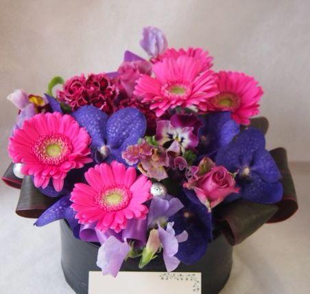 花ギフト|フラワーギフト|誕生日 花|カノシェ話題|スタンド花|ウエディングブーケ|花束|花屋|45681