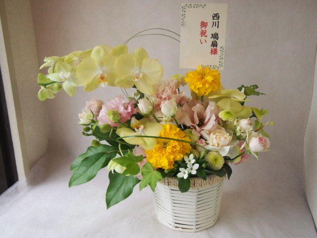花ギフト|フラワーギフト|誕生日 花|カノシェ話題|スタンド花|ウエディングブーケ|花束|花屋|43446