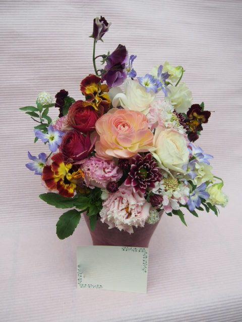 花ギフト|フラワーギフト|誕生日 花|カノシェ話題|スタンド花|ウエディングブーケ|花束|花屋|53318