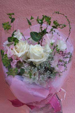 花ギフト|フラワーギフト|誕生日 花|カノシェ話題|スタンド花|ウエディングブーケ|花束|花屋|2012whiteday_b1