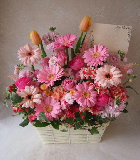 花ギフト|フラワーギフト|誕生日 花|カノシェ話題|スタンド花|ウエディングブーケ|花束|花屋|54257