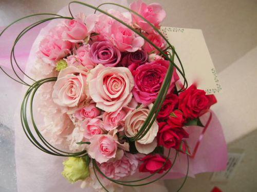 花ギフト|フラワーギフト|誕生日 花|カノシェ話題|スタンド花|ウエディングブーケ|花束|花屋|52999