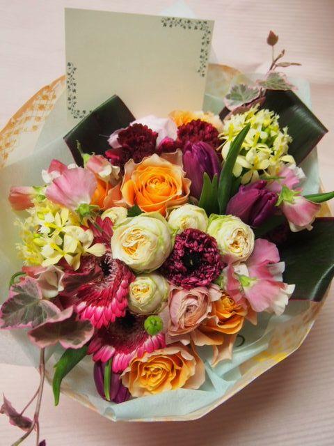 花ギフト|フラワーギフト|誕生日 花|カノシェ話題|スタンド花|ウエディングブーケ|花束|花屋|53131
