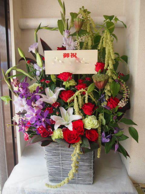 花ギフト|フラワーギフト|誕生日 花|カノシェ話題|スタンド花|ウエディングブーケ|花束|花屋|49659