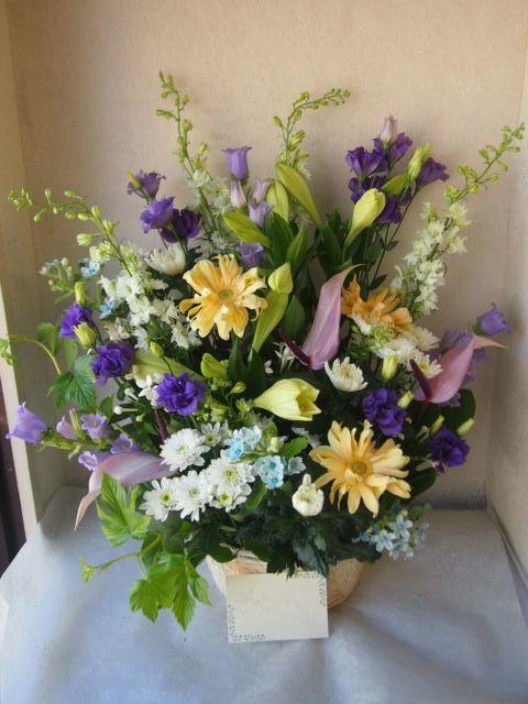 花ギフト|フラワーギフト|誕生日 花|カノシェ話題|スタンド花|ウエディングブーケ|花束|花屋|55908