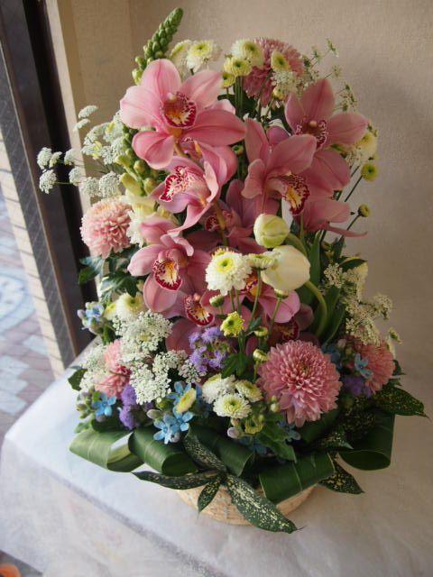 花ギフト|フラワーギフト|誕生日 花|カノシェ話題|スタンド花|ウエディングブーケ|花束|花屋|53445