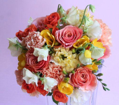 花ギフト|フラワーギフト|誕生日 花|カノシェ話題|スタンド花|ウエディングブーケ|花束|花屋|IMG_0565