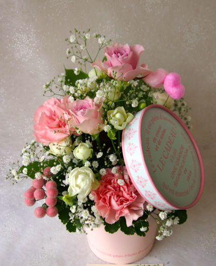 花ギフト|フラワーギフト|誕生日 花|カノシェ話題|スタンド花|ウエディングブーケ|花束|花屋|58523(1)