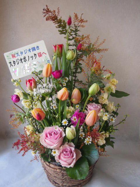 花ギフト|フラワーギフト|誕生日 花|カノシェ話題|スタンド花|ウエディングブーケ|花束|花屋|53626