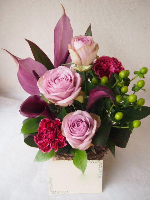 花ギフト|フラワーギフト|誕生日 花|カノシェ話題|スタンド花|ウエディングブーケ|花束|花屋|54342