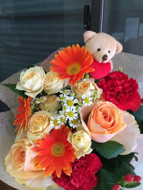 花ギフト|フラワーギフト|誕生日 花|カノシェ話題|スタンド花|ウエディングブーケ|花束|花屋|IMG_5083