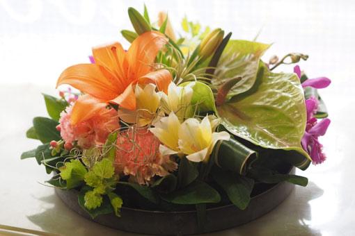 花ギフト|フラワーギフト|誕生日 花|カノシェ話題|スタンド花|ウエディングブーケ|花束|花屋|P4062342