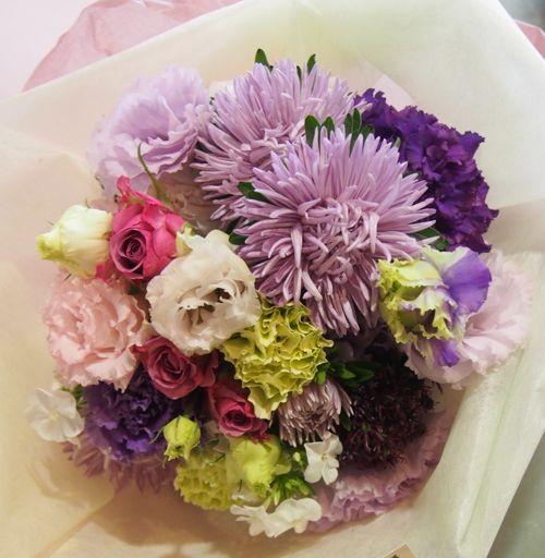 花ギフト|フラワーギフト|誕生日 花|カノシェ話題|スタンド花|ウエディングブーケ|花束|花屋|57254