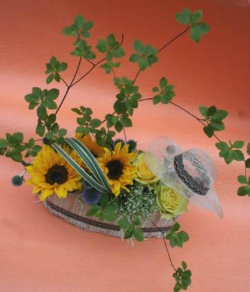 花ギフト|フラワーギフト|誕生日 花|カノシェ話題|スタンド花|ウエディングブーケ|花束|花屋|さや ひまわり