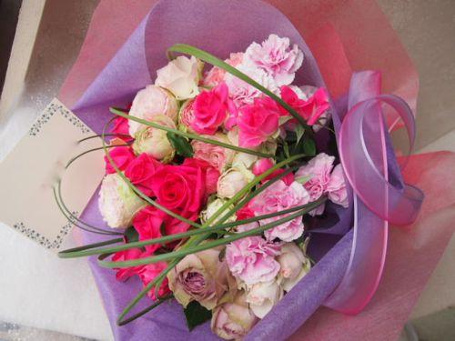 花ギフト|フラワーギフト|誕生日 花|カノシェ話題|スタンド花|ウエディングブーケ|花束|花屋|48568