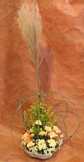 花ギフト|フラワーギフト|誕生日 花|カノシェ話題|スタンド花|ウエディングブーケ|花束|花屋|ゆかこさんすすき