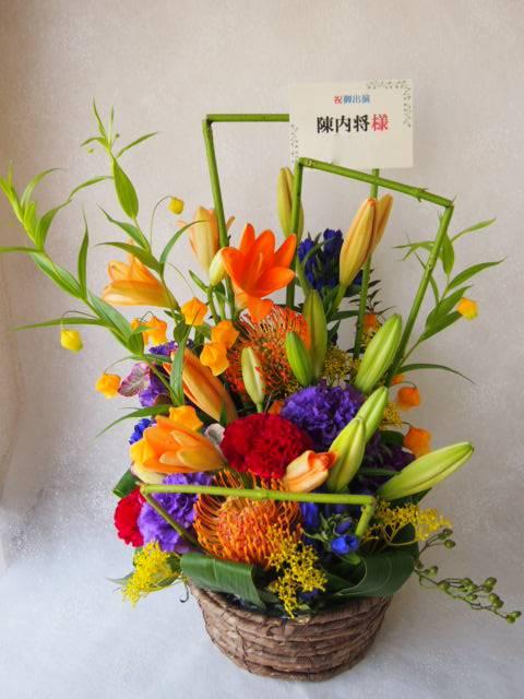 花ギフト|フラワーギフト|誕生日 花|カノシェ話題|スタンド花|ウエディングブーケ|花束|花屋|58123
