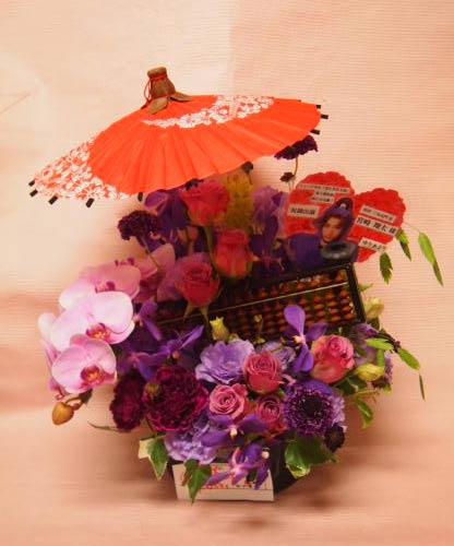 花ギフト|フラワーギフト|誕生日 花|カノシェ話題|スタンド花|ウエディングブーケ|花束|花屋|P6193115