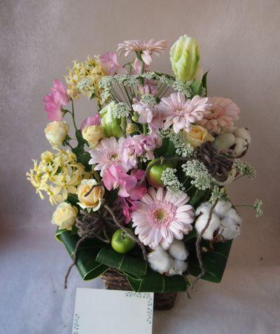 花ギフト|フラワーギフト|誕生日 花|カノシェ話題|スタンド花|ウエディングブーケ|花束|花屋|37776