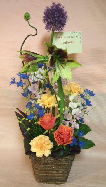 花ギフト|フラワーギフト|誕生日 花|カノシェ話題|スタンド花|ウエディングブーケ|花束|花屋|46872