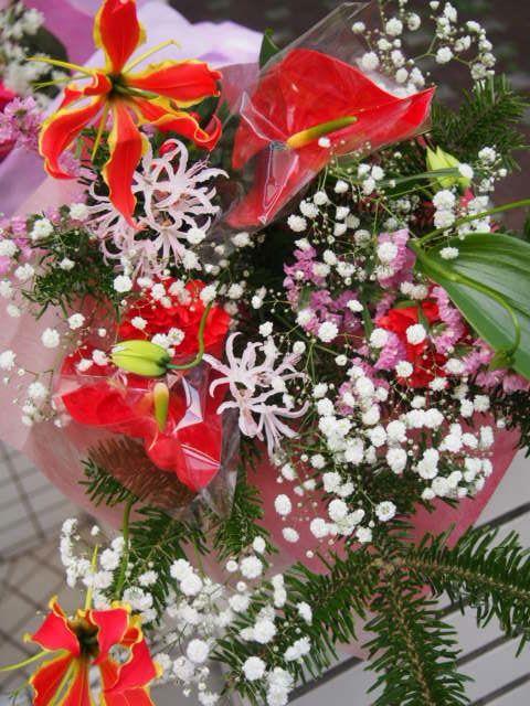 花ギフト|フラワーギフト|誕生日 花|カノシェ話題|スタンド花|ウエディングブーケ|花束|花屋|15488
