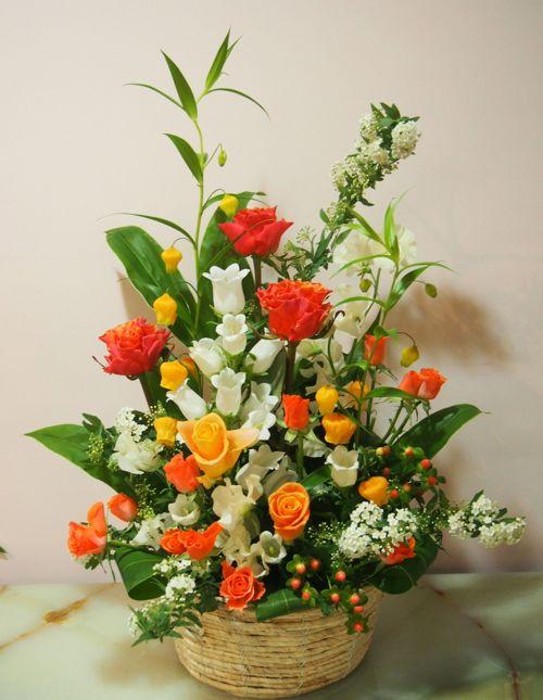 花ギフト|フラワーギフト|誕生日 花|カノシェ話題|スタンド花|ウエディングブーケ|花束|花屋|54530