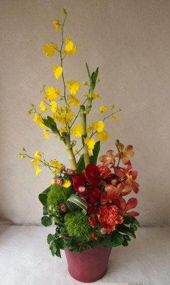 花ギフト|フラワーギフト|誕生日 花|カノシェ話題|スタンド花|ウエディングブーケ|花束|花屋|58076