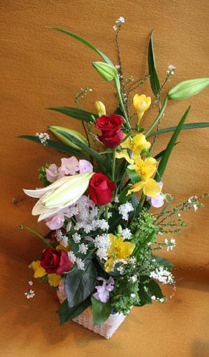 花ギフト|フラワーギフト|誕生日 花|カノシェ話題|スタンド花|ウエディングブーケ|花束|花屋|ゆりかよこ