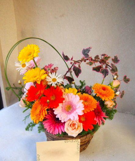 花ギフト|フラワーギフト|誕生日 花|カノシェ話題|スタンド花|ウエディングブーケ|花束|花屋|52445
