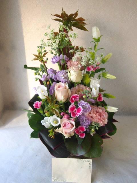 花ギフト|フラワーギフト|誕生日 花|カノシェ話題|スタンド花|ウエディングブーケ|花束|花屋|55033