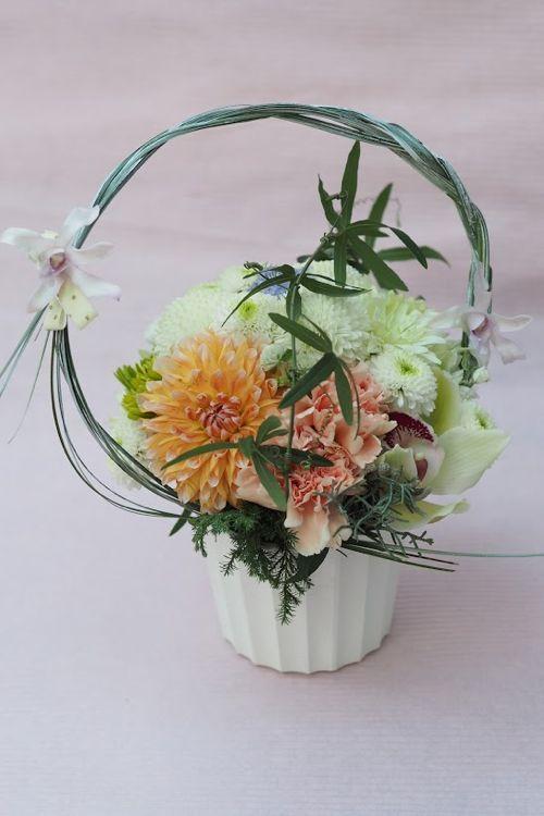 花ギフト|フラワーギフト|誕生日 花|カノシェ話題|スタンド花|ウエディングブーケ|花束|花屋|PB190678