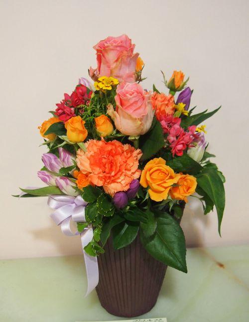 花ギフト|フラワーギフト|誕生日 花|カノシェ話題|スタンド花|ウエディングブーケ|花束|花屋|58483