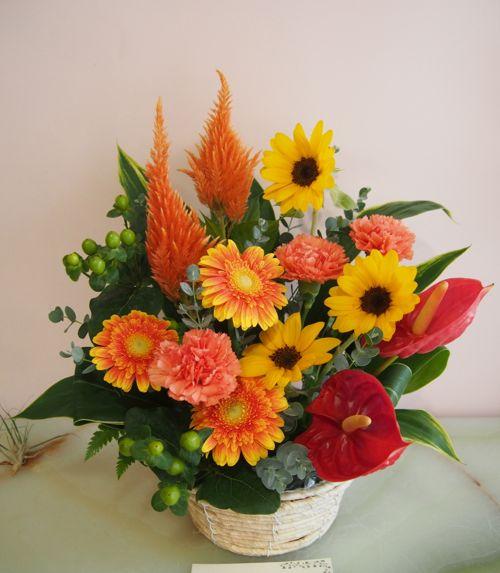 花ギフト|フラワーギフト|誕生日 花|カノシェ話題|スタンド花|ウエディングブーケ|花束|花屋|58127